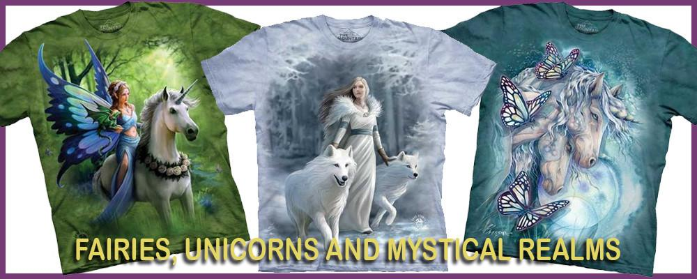 Fairies, Unicorns and Mystic Realms