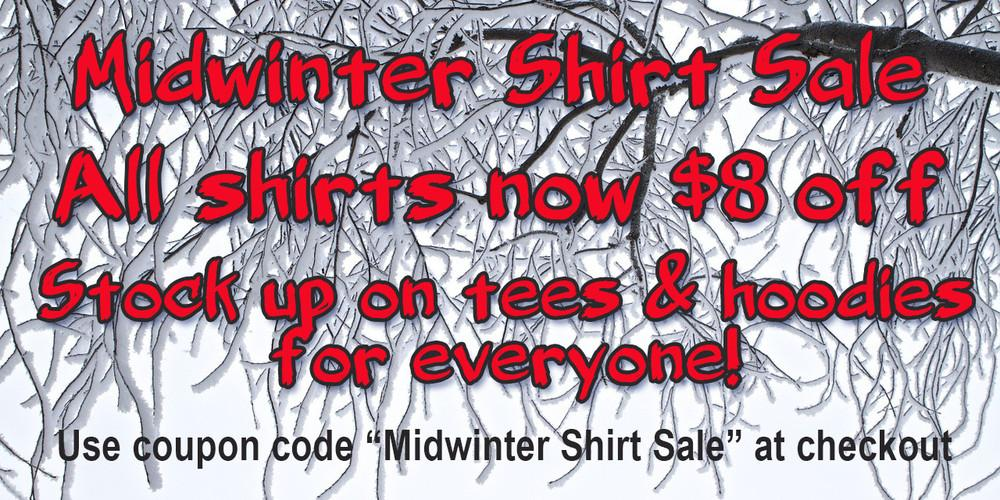 Midwinter Shirt Sale