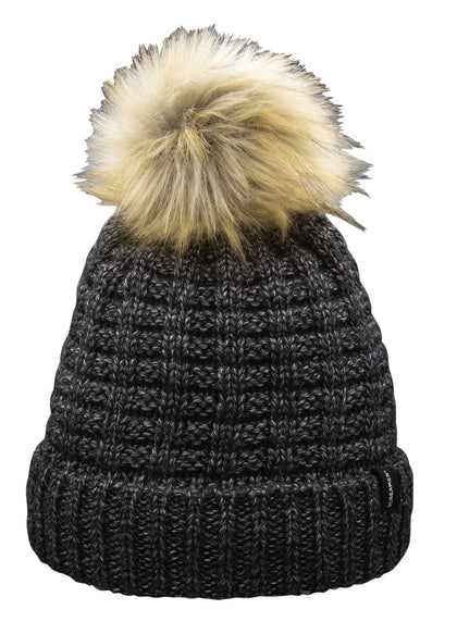Patricia W/Detachable Faux Fur Pom