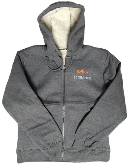 Screamer Heavyweight Sherpa-Lined Hooded Fleece Jacket
