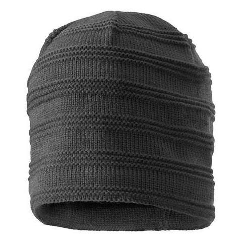Ripple Fleece Lined Beanie Hat