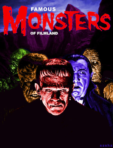 HORROR MAGAZINES-FAMOUS MONSTERS