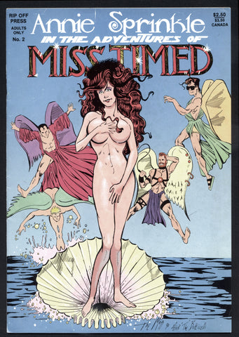 Annie Sprinkle, The Adventures of MISS TIMED 2, Underground Comix, Andy Mangels, The Mazz