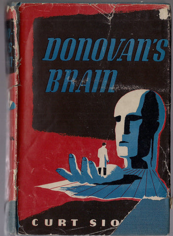 DONOVAN's BRAIN, Curt Siodman, 1944,Triangle Books Hardcover Book,Science Fiction Classic, Basis of Lew Ayres movie version