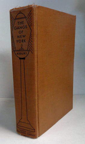 GANGS of NEW YORK, Rare,1928 Obscure 2nd Printing,Herbert Asbury, Star Books, Garden City Pub Co,Teenage Street Crime, Tammany Hall, Irish
