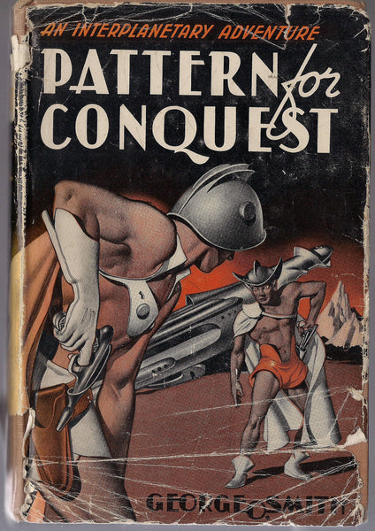 GEORGE O SMITH, Pattern for Conquest, Edd Cartier,1944 Gnome Press, Hardcover SF Book,Science Fiction Classic
