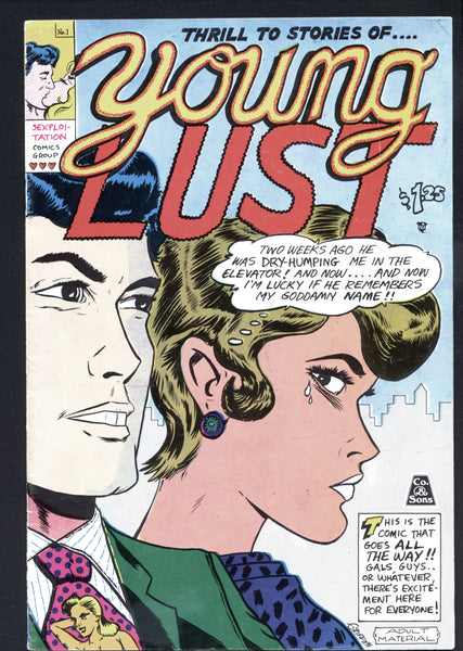 YOUNG LUST 1,Print Mint-Last Gasp 7th Printing, 1977, Jay Kinney, Bill Griffith, Art Spiegelman,