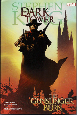 Marvel Comics,The DARK TOWER, The Gunslinger Born, Stephen King,Jae Lee,Richard Isanove, Horror Movie Hard Cover Graphic Novel Collection