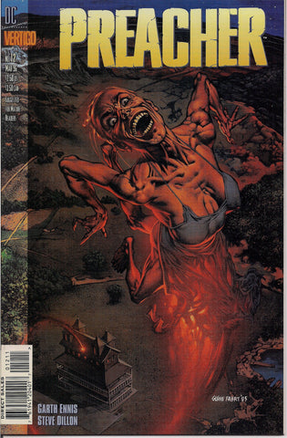 PREACHER #12, Garth Ennis,Steve Dillon,Jesse Custer,The Saint of Killers,Cassidy,Tulip,DC Comics Vertigo Press