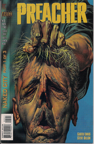 PREACHER #5, Garth Ennis,Steve Dillon,Jesse Custer,The Saint of Killers,Cassidy,Tulip,1st Reaver-Cleaver,Si Coltrane,DC Comics Vertigo Press