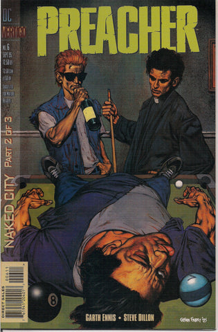 PREACHER #6, Garth Ennis,Steve Dillon,Jesse Custer,The Saint of Killers,Cassidy,Tulip,DC Comics Vertigo Press