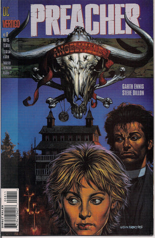 PREACHER #8, Garth Ennis,Steve Dillon,Jesse Custer,The Saint of Killers,Cassidy,Tulip,DC Comics Vertigo Press