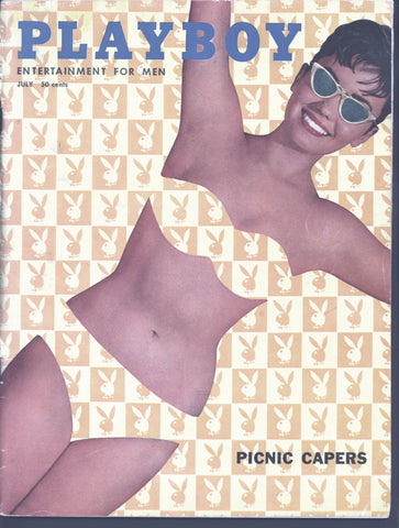 Hugh Hefner,PLAYBOY Magazine,July 1958,Judy Lee Tomerlin,Commander Whiehead,Richard Armour,LP Album art,Shelly Berman,Jack Cole