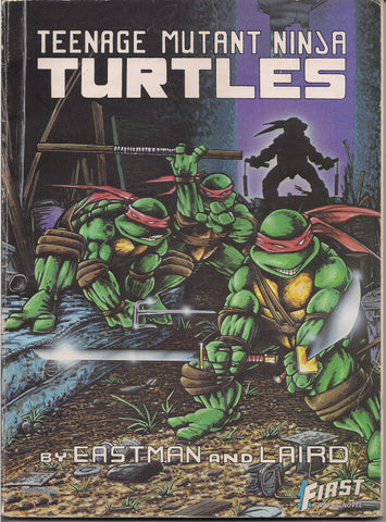 TMNT,Teenage Mutant Ninja Turtles,Peter Laird Kevin Eastman,1989,First Comics Graphic Novel Collection,Splinter,Shredder,April O Neil