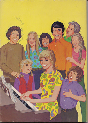 The BRADY BUNCH,Official Coloring Book,Florence Henderson,Robert Reed,Marcia Marcia Marcia, Bubble Gum,Rock and Roll,TV,Music,Pop Culture