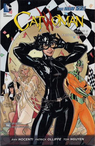 CATWOMAN, Race of Thieves Volume 5, DC Comics,Selina Kyle,Ann Nocenti,Soft Cover,girl power,Batman, Dark Knight,Graphic Novel Collection,