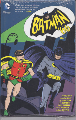 BATMAN '66, Vol 1,Adam West TV Television series,Catwoman,Joker,DC Comics,Sealed Hardcover Graphic Novel Collection