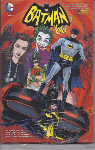BATMAN '66, Vol 3,Adam West TV Television series,Catwoman,Joker,Robin,Barbara Gordon,DC Comics,Sealed Hardcover Graphic Novel Collection