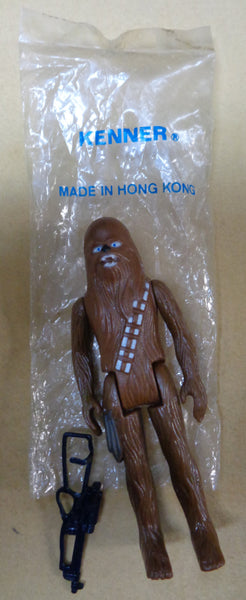 STAR WARS, Chewbacca, Action Figure,1978, loose in original Mail Away KENNER bag