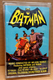 DC Comics,1966,BATMAN,OST,Audio Cassette TV Soundtrack, Nelson Riddle,Neal Hefti,Adam West,National Periodical Publications