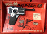 Vintage MATTEL, Snap-Shot,Secret Agent Zero M, Mint, Unopened, 60s,Mod Era, Spy Fi, James Bond,007,Man from UNCLE,Transformer,Camera Toy GUN