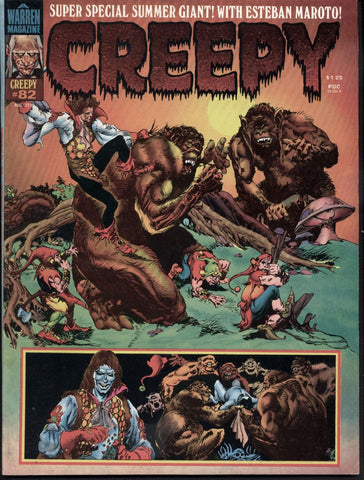 CREEPY #82 The 1976 Creepy Annual Warren Horror Comics Magazine Esteban Maroto Special Issue