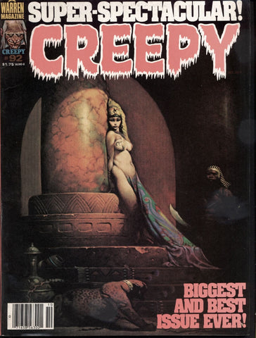 CREEPY #92 Warren Horror Comics Magazine Bermejo Richard Corben Durañona Russ Heath Esteban Maroto Jose Sanchez John Severin Ramon Torrents