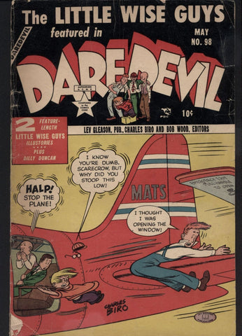 DAREDEVIL #98, May 1953, The Little Wise Guys, Lev Gleason Publications, Crimebuster, Charles Biro, Norman Maurer