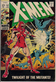 MARVEL XMEN #52 Mutants Silver Age Comics Jack King Kirby & Stan Lee 1969 VG+