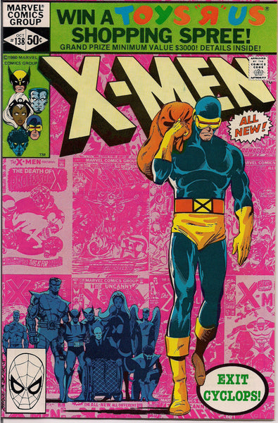 DARK PHOENIX SAGA  Marvel Mutants Xmen #138  Fine Bronze Age Comic 1980 John Byrne created by Jack King Kirby & Stan Lee