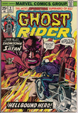 GHOST RIDER #9 1974 Marvel Comics Jim Mooney Motorcycle Supernatural Super-Hero VG