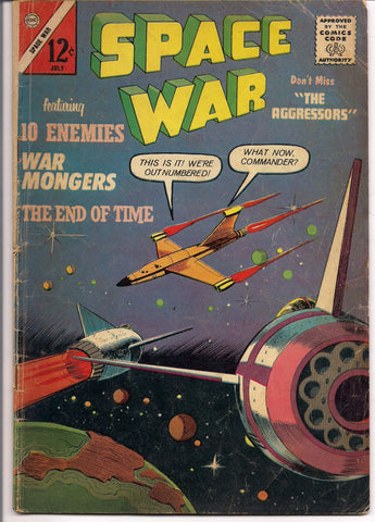 Charlton Comics SPACE WAR #23 1963 V G+