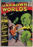 American Comics Group A C G UNKOWN WORLDS #34 1964  Chic Stone  HERBIE the Fat Fury