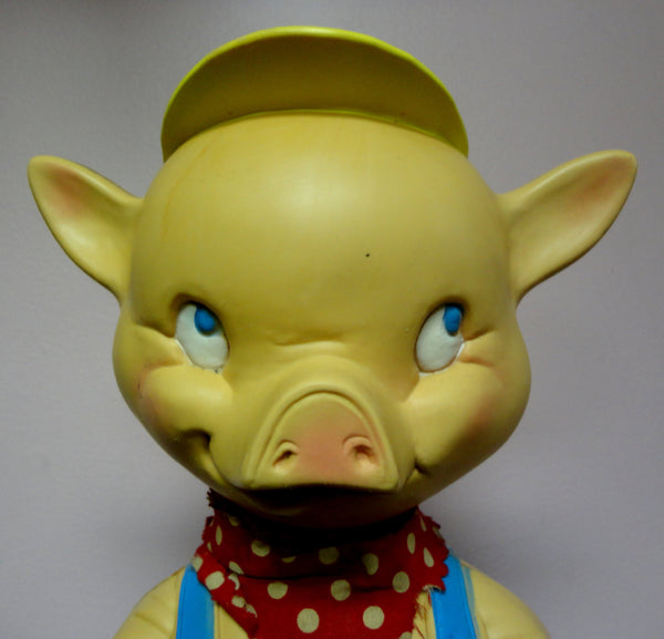 Battery Operated Mascon Toy Co PIGGY BANK 1970s mechanical Plastic toy PIG