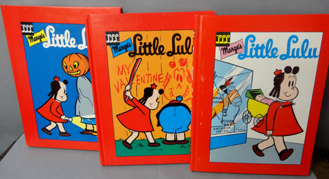 Marge's LITTLE LULU Library Vol 4 Marjorie Henderson Buell John Stanley Another Rainbow Publications Russ Cochran