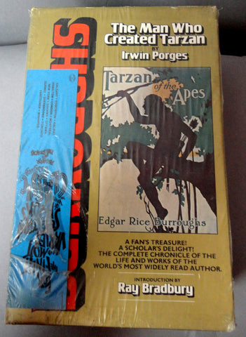 TARZAN Edgar Rice Burroughs: The Man Who created Tarzan Irwin Porges RAY BRADBURY E R B John Carter Mars Barsoom Pellucidar