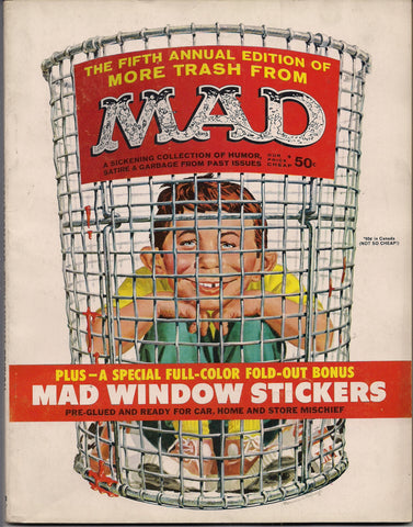 More TRASH from MAD MAGAZINE #5 1962 What Me Worry? Alfred E Neuman Bill Elder Wally Wood Kelly Freas Don Martin Jack Davis Mort Drucker