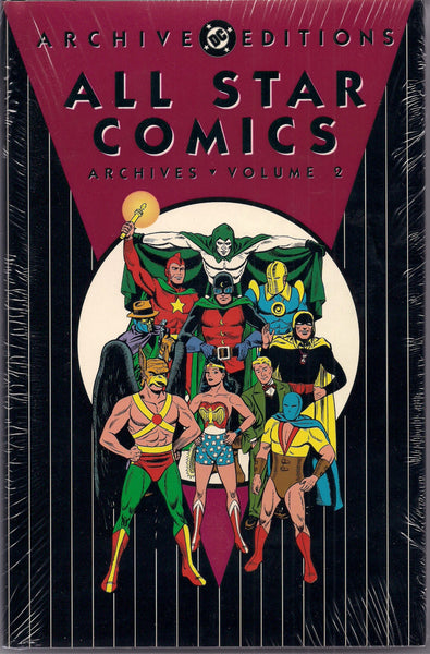 ALL STAR DC Comics Archive Editions #2 1st Printing in Shrinkwrap Reprinting # 7-10 1940s 1st Wonder Woman Golden Age Comics