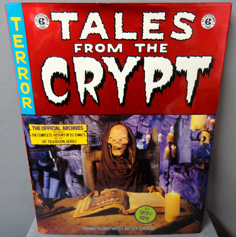 E C Comics TALES FROM the CRYPT The Official Archives Complete History of Horror Comics & H B O Television Series + Movies