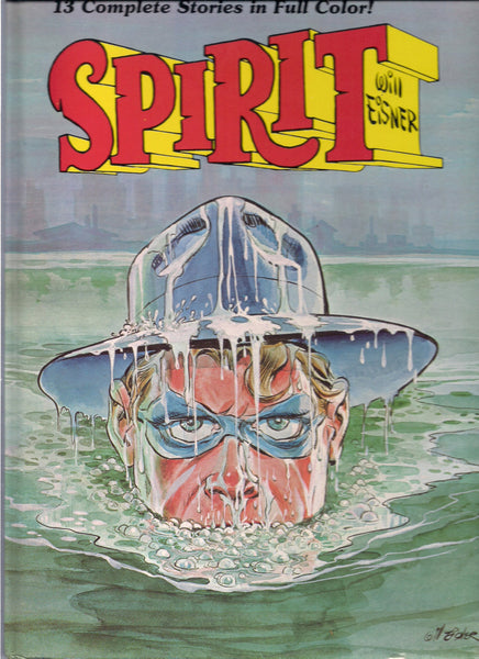 The SPIRIT WILL EISNER 1st Color Album Kitchen Sink 1981