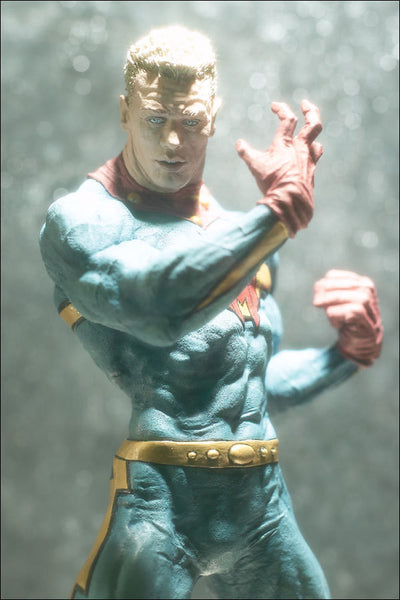 Alan Moore Neil Gaiman MIRACLEMAN aka MARVEL MAN Out of Print Limited Ed Superhero Figure McFarlane