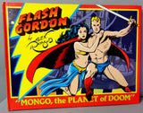 FLASH GORDON Alex Raymond Set of all 6 Kitchen Sink Hardcover Color Newspaper Science Fiction Comic Strips Funnies Reprints