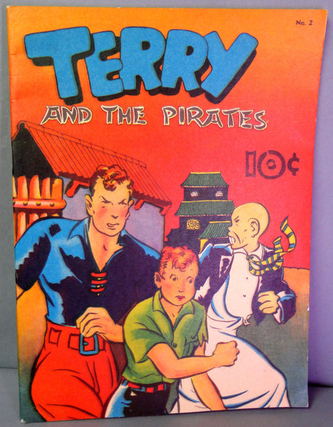 Milton CANIFF TERRY & The PIRATES Large Feature Comics #2 Tony Raiola 1983 Reprint Newspaper Adventure Comic Strips Funnies