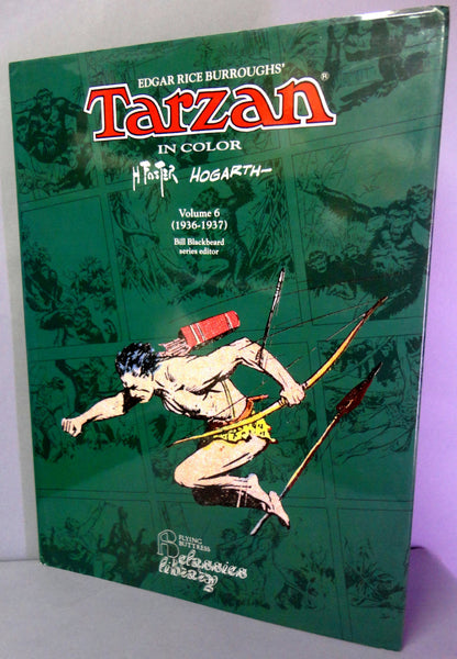 TARZAN of the Apes by HAL FOSTER Vol 6 1936-1937 Edgar Rice Burroughs Color Newspaper comic strips Reprints