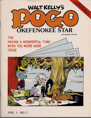 WALT KELLY's POGO Set of Okefenokee Star Fanzine published 1977-1980