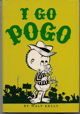 WALT KELLY's POGO I Go Pogo Gregg Press 1977 Limited Edition