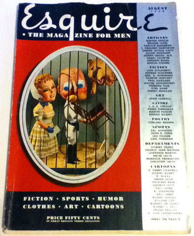 Vintage 1938 ESQUIRE Magazine Petty Girl PinUp Errol Flynn Robin Hood Dead End Kids Cary Grant Hell's Angels Scarface Freddie Bartholomew