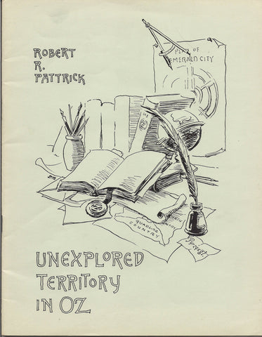 L Frank Baum UNEXPLORED TERRITORY in OZ International Wizard of Oz Club Fanzine Robert R Pattrick Bill Eubank