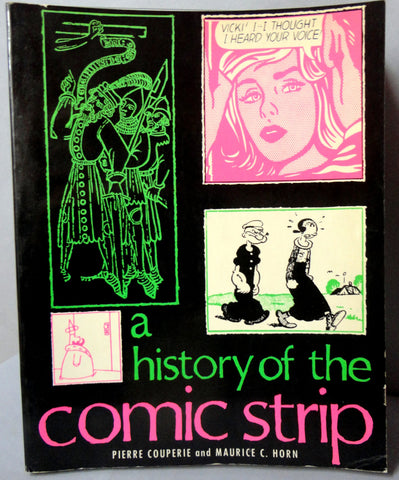 History of the COMIC STRIP Couperie Horn Popeye Tarzan Buck Rogers Raymond Pogo Nemo Caniff Tintin Disney 'DICK TRACY' Krazy Kat Barney Google