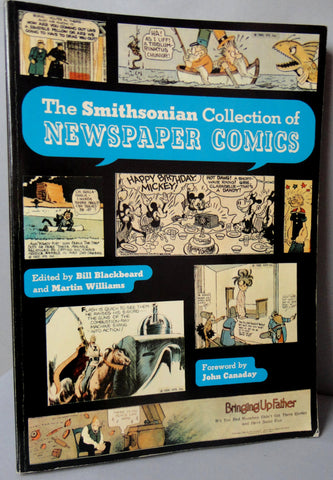 Smithsonian Collection of NEWSPAPER COMICS Mickey Mouse Flash Gordon Krazy Kat Tarzan Blondie Little Nemo Dick Tracy Popeye Prince Valiant